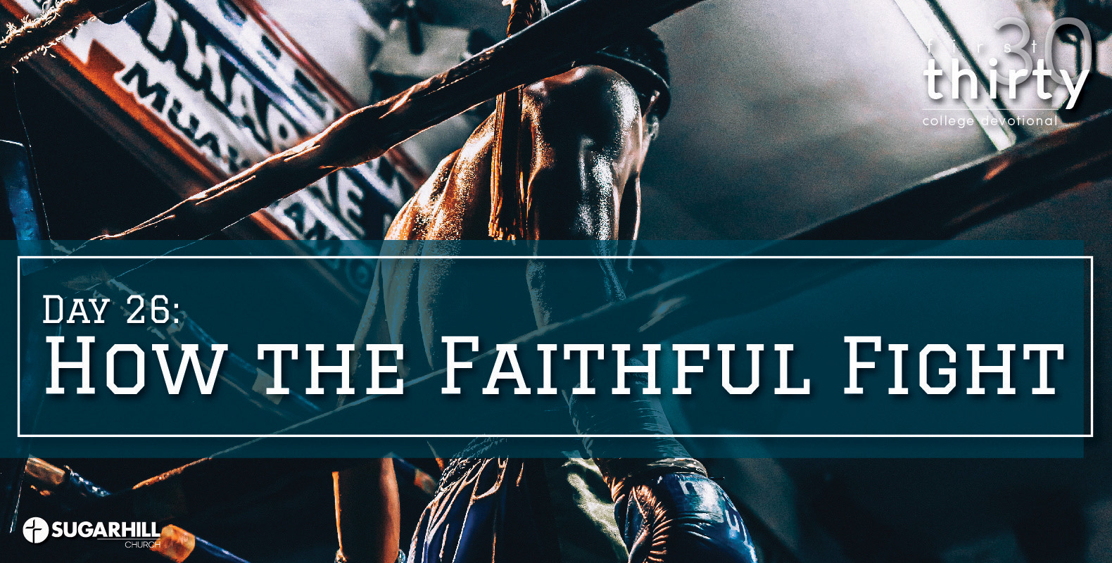 How the Faithful Fight (3 Ways to Handle Haters)