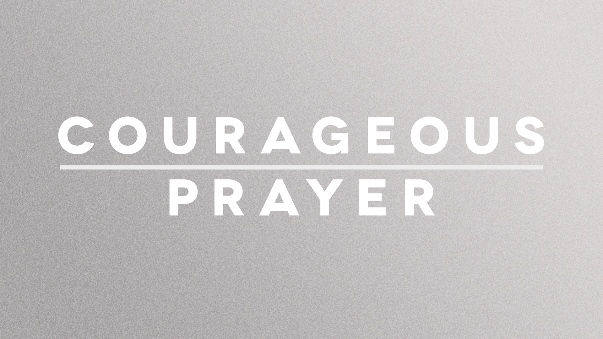 Courageous Prayer | Psalm 139 | Bobby McGraw [sermon replay]